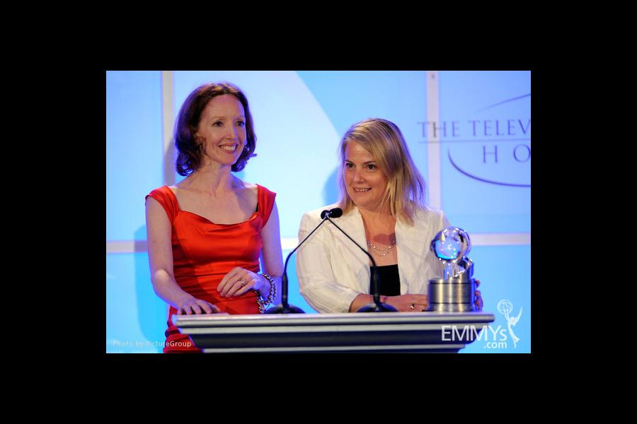 Darlene Hunt and Jenny Bicks at the Fourth Annual Television Academy Honors