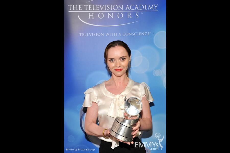 Christina Ricci at the Fourth Annual Television Academy Honors