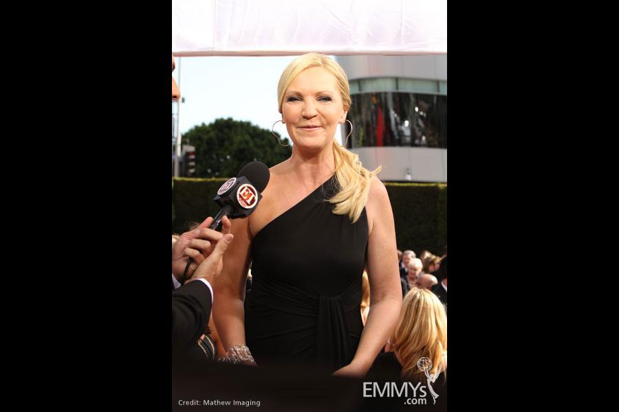 Joan Allen at the 62nd Primetime Emmy Awards