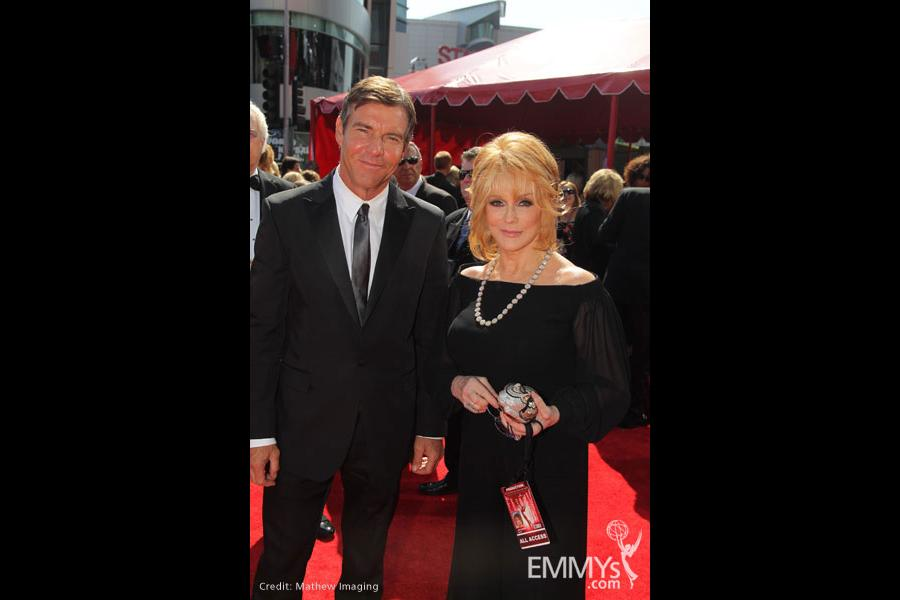 Dennis Quaid and Ann-Margret at the 62nd Primetime Emmy Awards