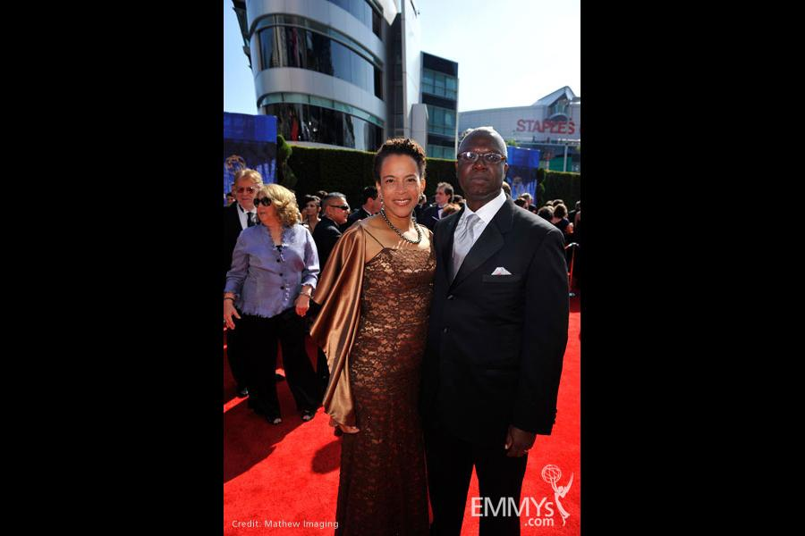 Andre Braugher at the 62nd Primetime Emmy Awards