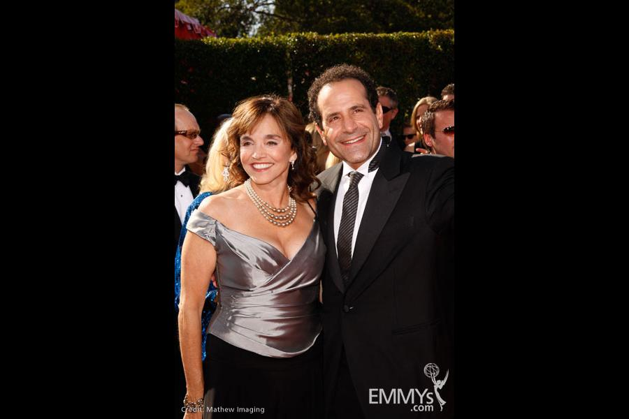 Tony Shalhoub at the 59th Primetime Emmy Awards