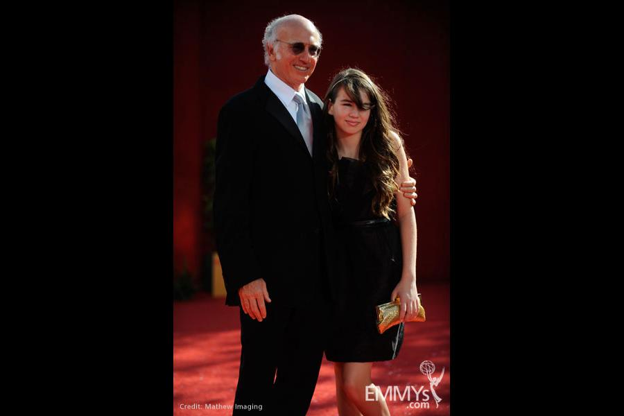 Larry David at the 60th Primetime Emmy Awards