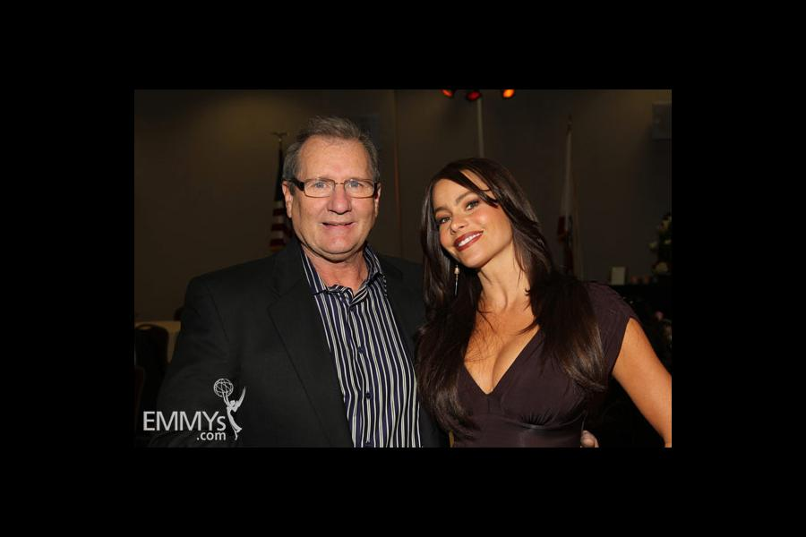 Ed O'Neill & Sofia Vergara at An Evening With Modern Family