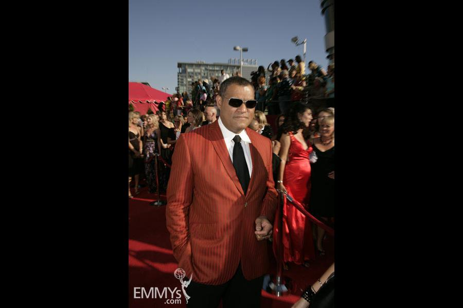 Laurence Fishburne at the 60th Primetime Emmy Awards