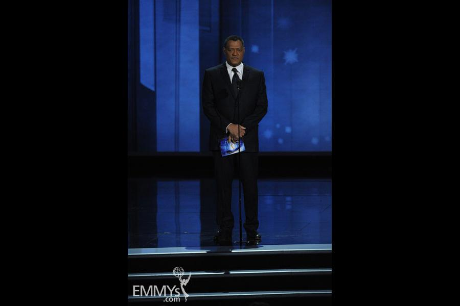 Laurence Fishburne at the 62nd Primetime Emmy Awards