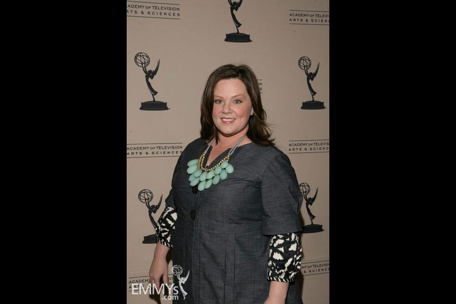 Melissa McCarthy arrives at An Evening With Samantha Who?