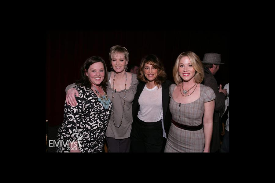 Melissa McCarthy, Jean Smart, Jennifer Esposito & Christina Applegate at An Evening With Samantha Who?