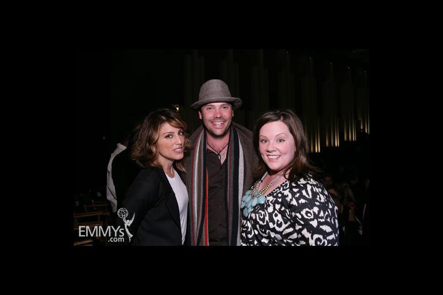 Melissa McCarthy, Jennifer Esposito & Barry Watson at An Evening With Samantha Who?