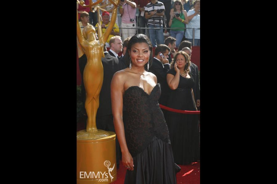 Taraji P. Henson at the 60th Primetime Emmy Awards