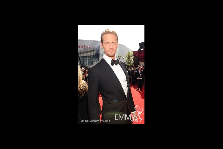 Alexander Skarsgård arrives at the 62nd Primetime Emmy® Awards