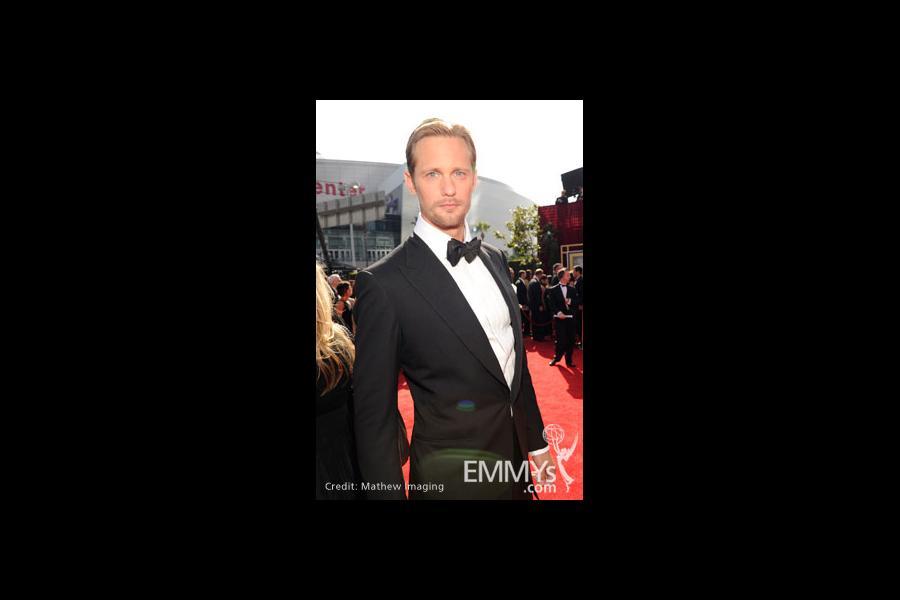 Alexander Skarsgård arrives at the 62nd Primetime Emmy® Awards