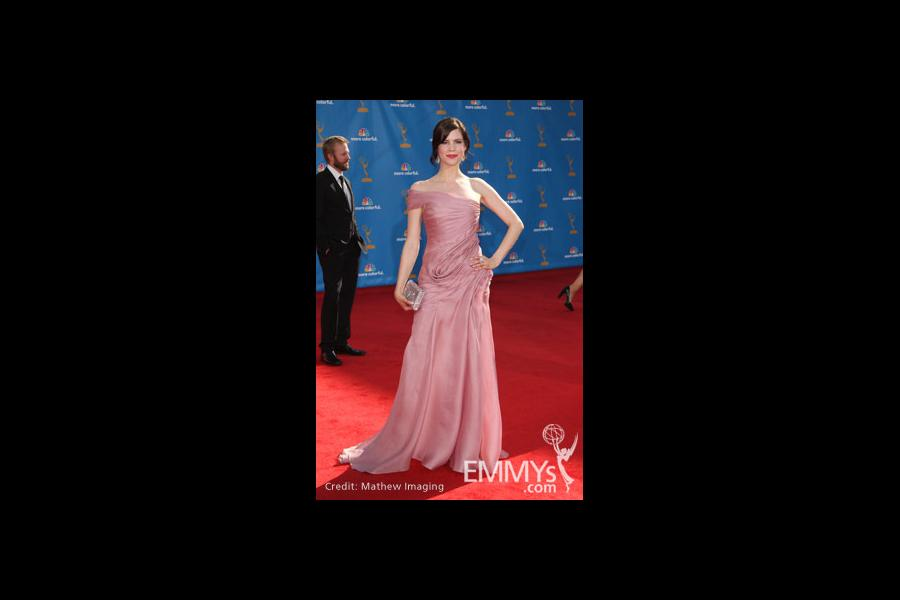 Mariana Klaveno arrives at the 62nd Primetime Emmy® Awards