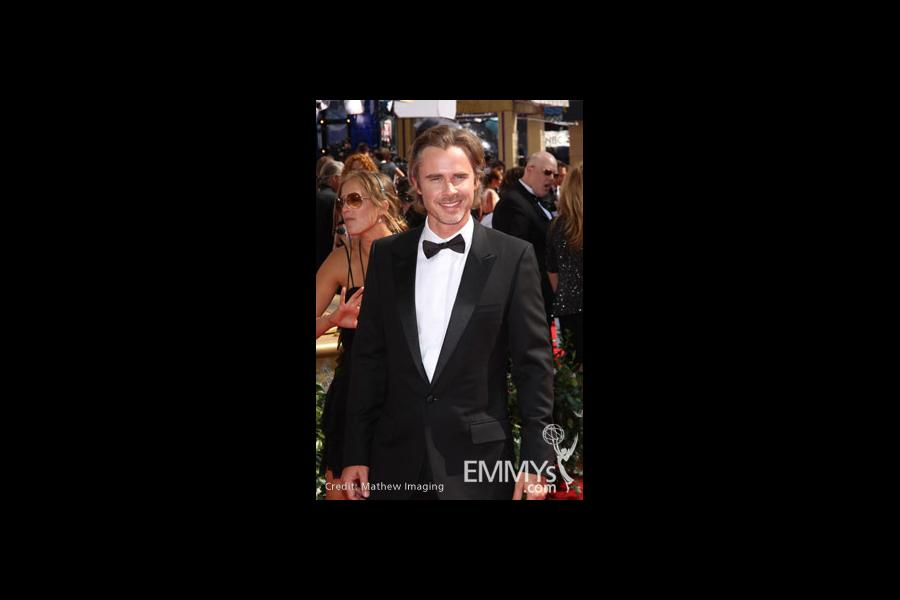 Sam Trammell arrives at the 62nd Primetime Emmy® Awards