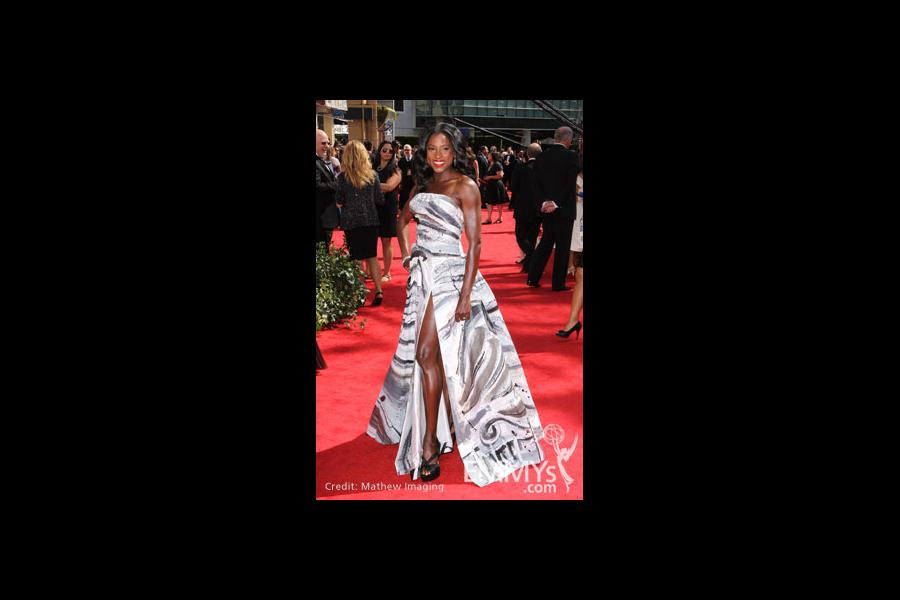 Rutina Wesley arrives at the 62nd Primetime Emmy® Awards