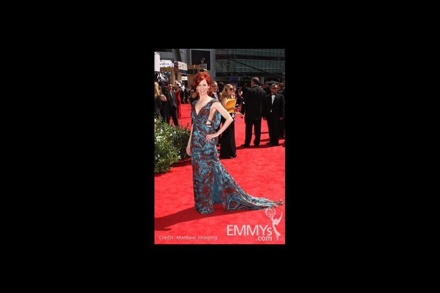 Carrie Preston arrives at the 62nd Primetime Emmy® Awards