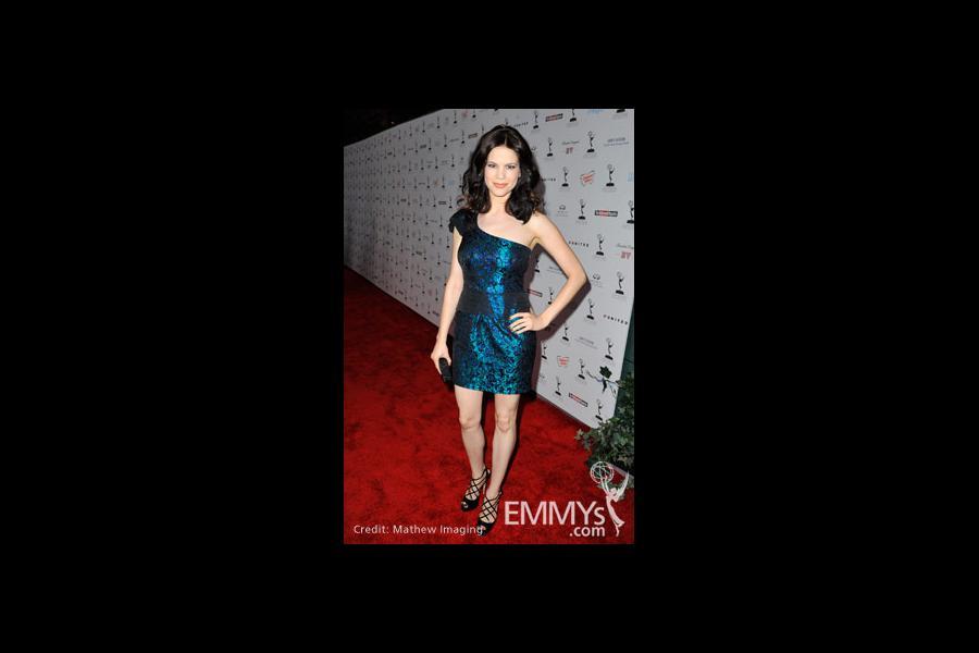 Mariana Klaveno arrives at the 62nd Primetime Emmy® Awards