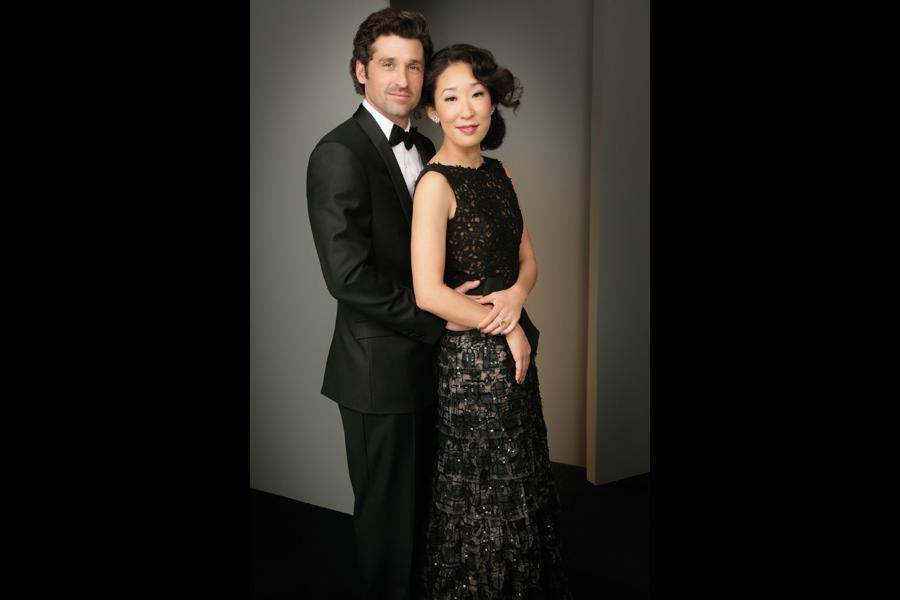 Patrick Dempsey and Sandra Oh