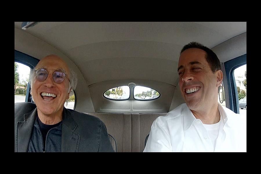 Larry David and Jerry Seinfeld