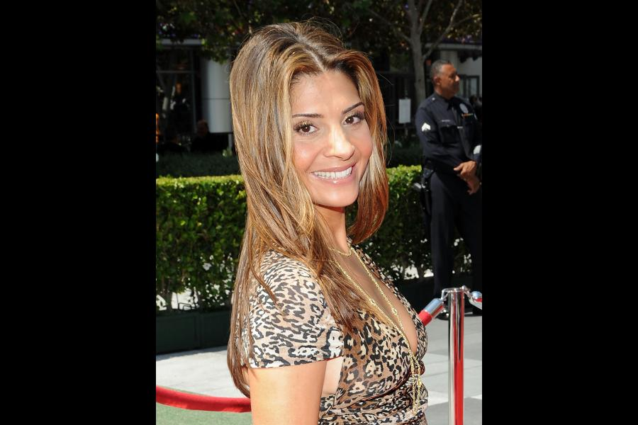 Callie Thorne at the 61st Primetime Creative Arts Emmy Awards