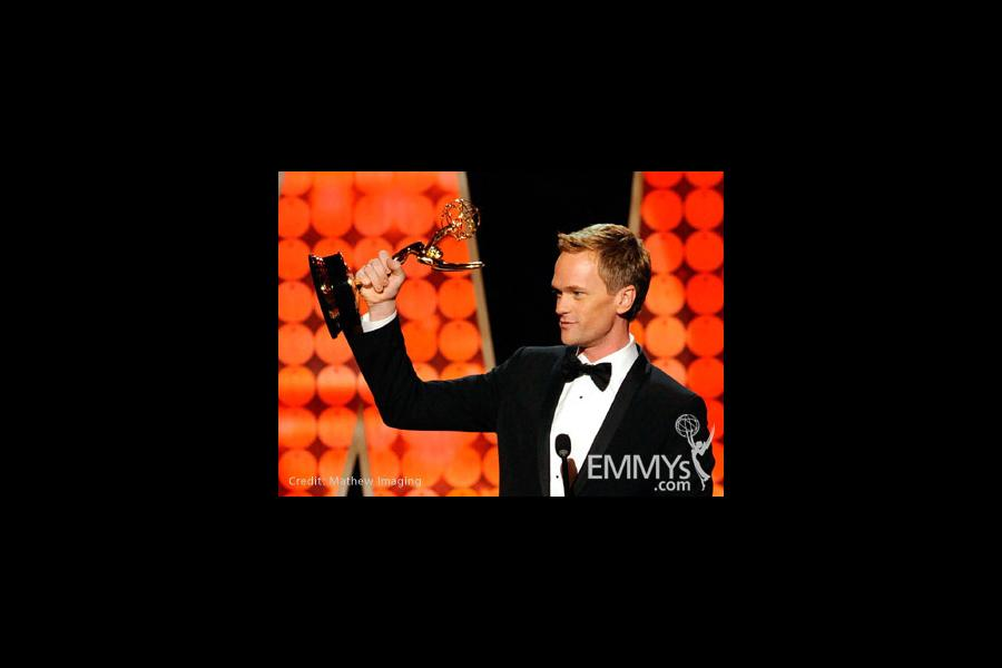 Actor Neil Patrick Harris speaks onstage during the 62nd Primetime Creative Arts Emmy Awards