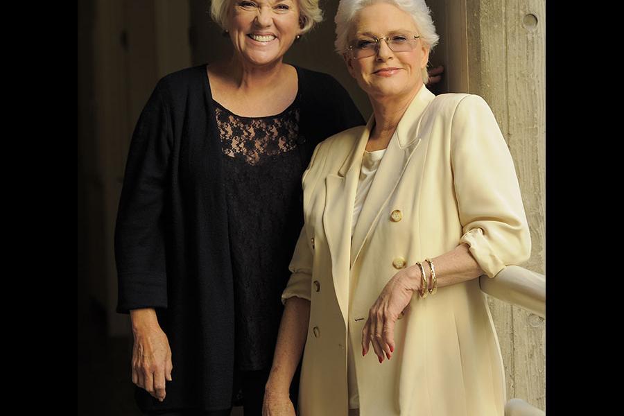 Tyne Daly and Sharon Gless