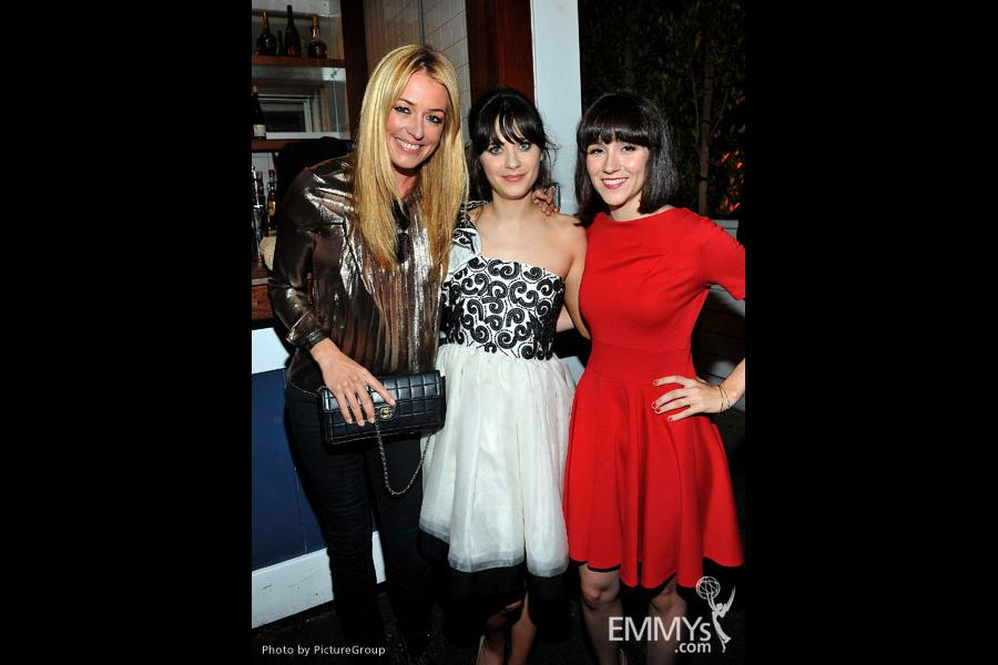 Cat Deeley, Zooey Deschanel, Shannon Woodward