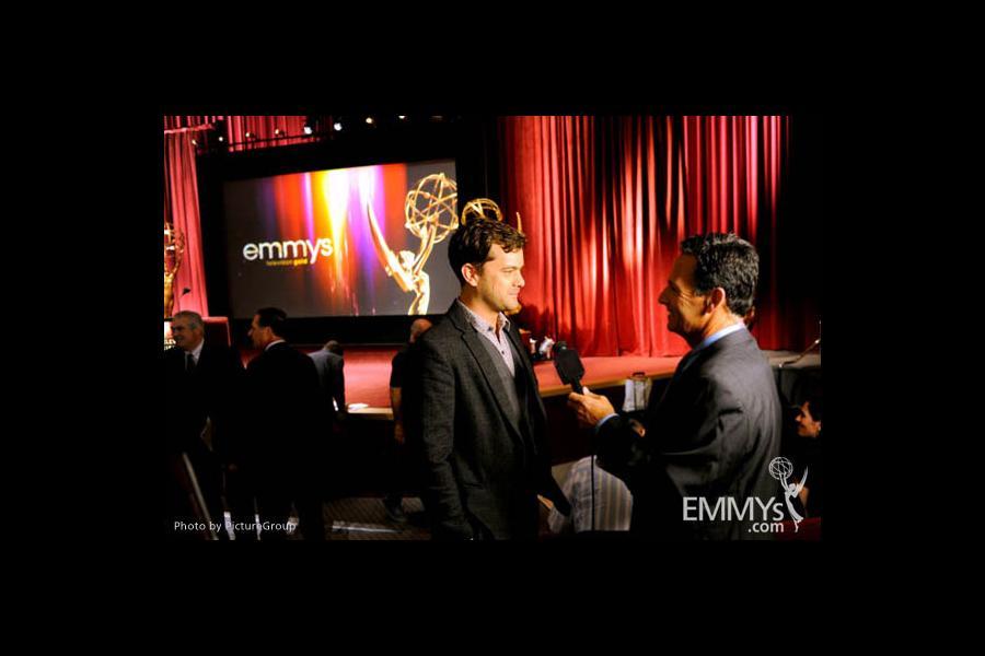 Joshua Jackson at the 63rd Primetime Emmy Awards Nominations Ceremony