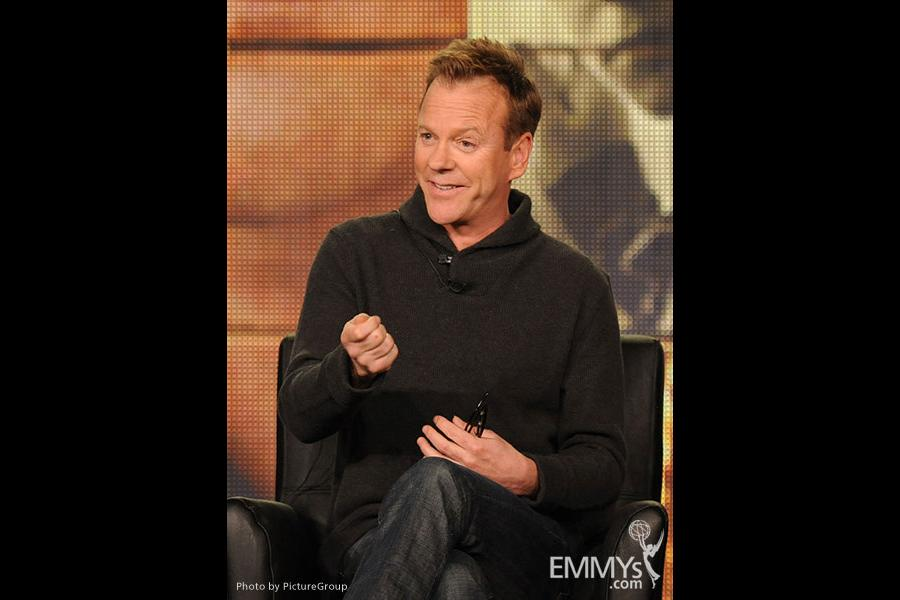 Kiefer Sutherland onstage during the Touch panel during the FOX portion of the 2012 Winter TCA Tour