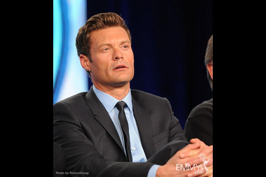 Ryan Seacrest of American Idol at the 2012 winter TCA conference
