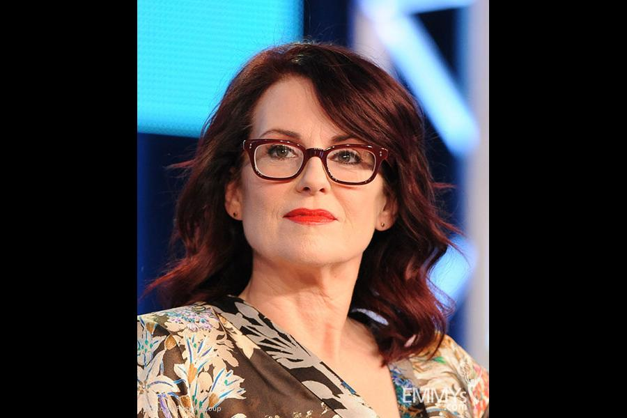 Megan Mullally onstage during the Spring Comedy Panel during the 2012 Winter TCA Tour