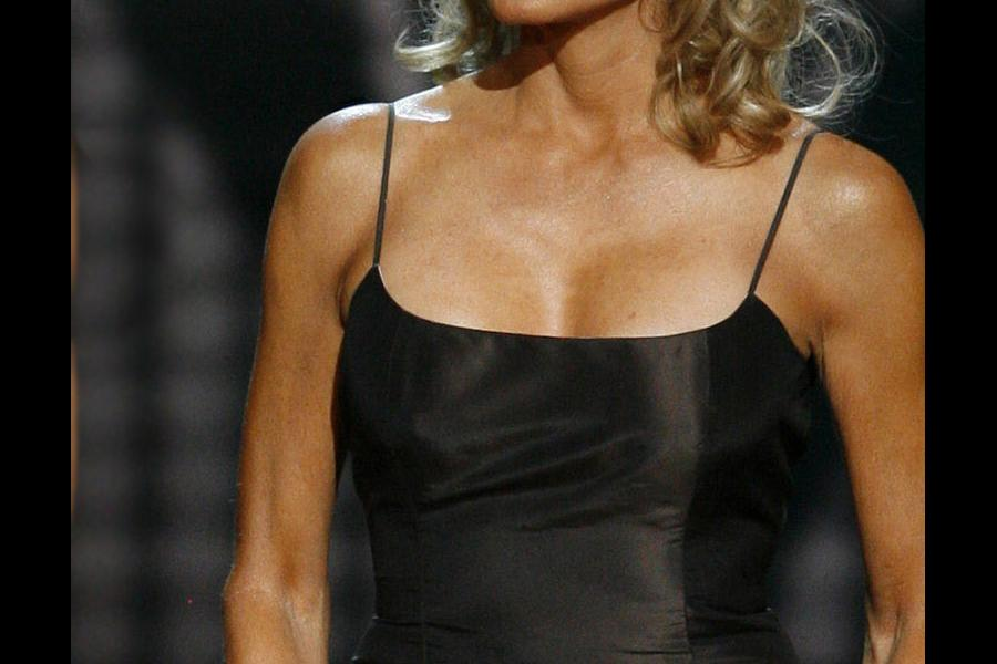 Farrah Fawcett at the 58th Primetime Emmy Awards