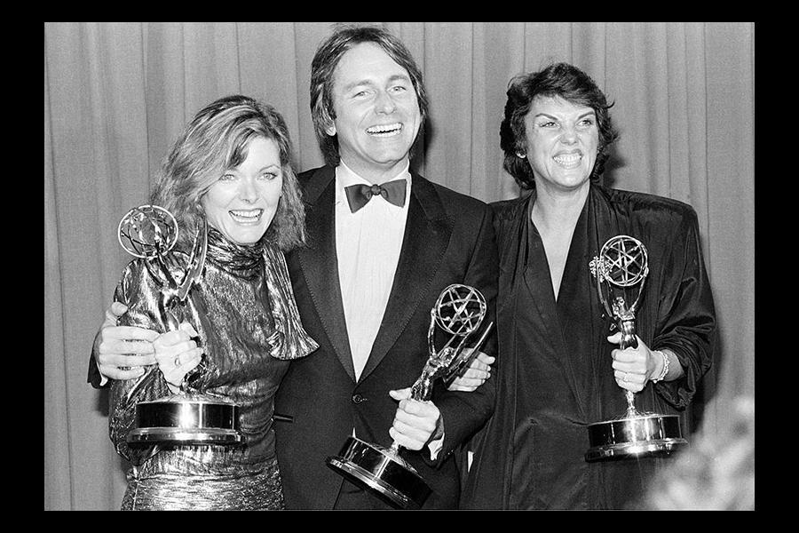 Jane Curtin, John Ritter and Tyne Daly