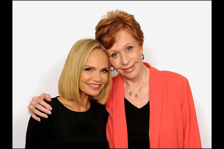 Kristin Chenoweth and Carol Burnett