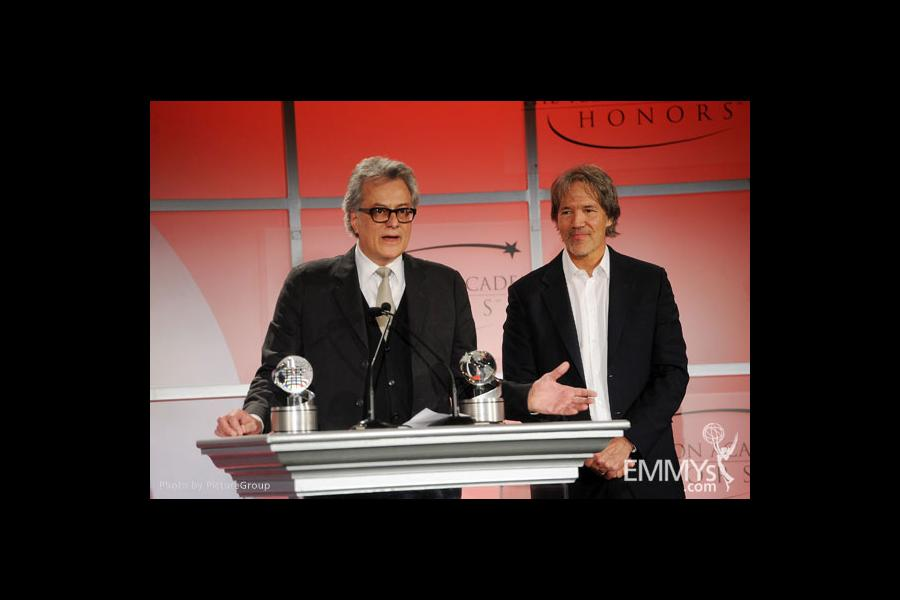 David E. Kelley and Bill D'Elia at the 5th Annual Television Academy Honors