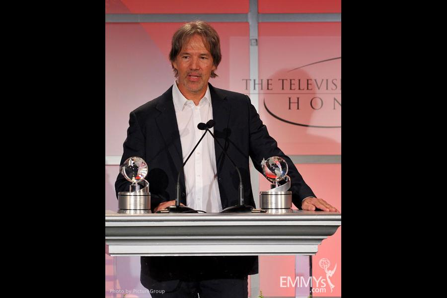 David E. Kelley onstage at the 5th Annual Television Academy Honors