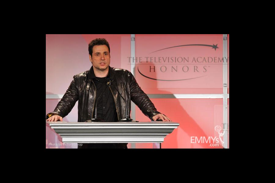 Adam Ferrara onstage at the 5th Annual Television Academy Honors