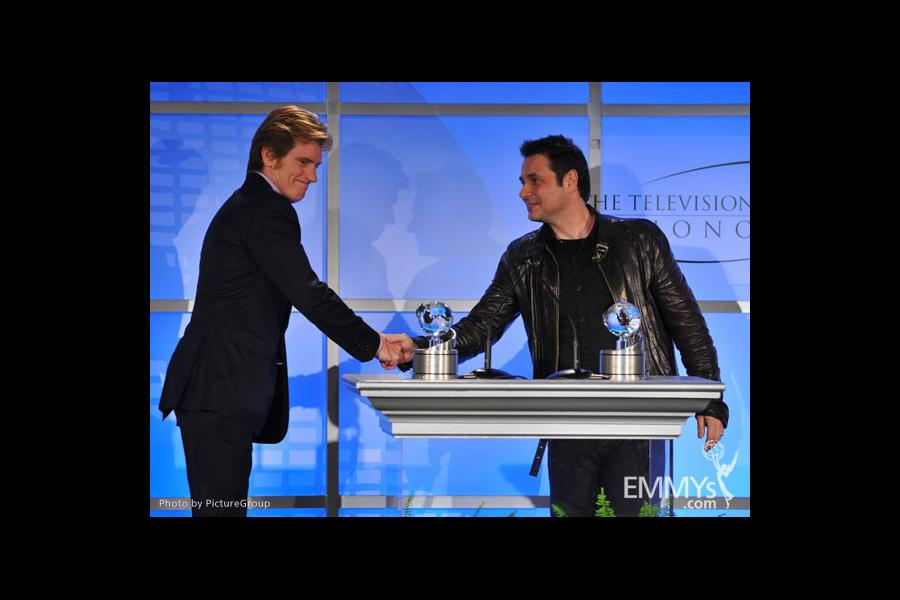 Denis Leary and Adam Ferrara onstage at the 5th Annual Television Academy Honors