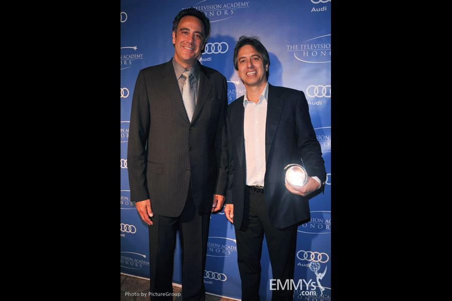 Brad Garrett and Ray Romano at the 5th Annual Television Academy Honors