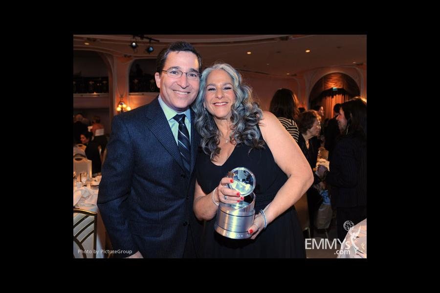 Bruce Rosenblum and Marta Kauffman at the 5th Annual Television Academy Honors