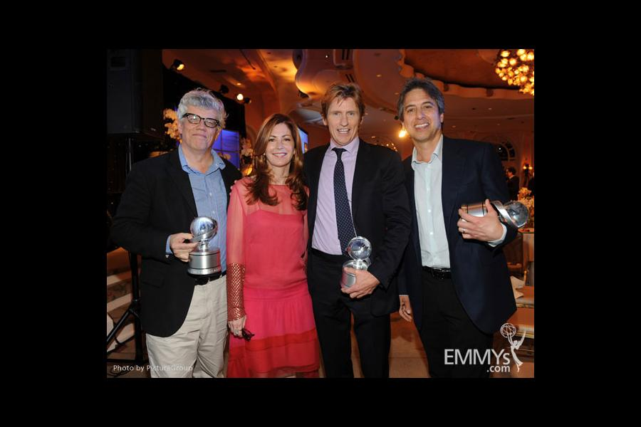 Denis Leary, Dana Delany, Ray Romano and Peter Tolan attend the 5th Annual Television Academy Honors
