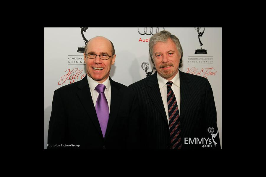 Barry Livingston and Stan Livingston arrive at the 21st Annual Hall of Fame Gala