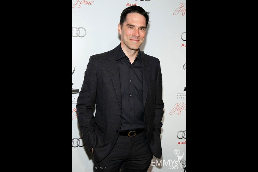 Thomas Gibson arrives at the 21st Annual Hall of Fame Gala
