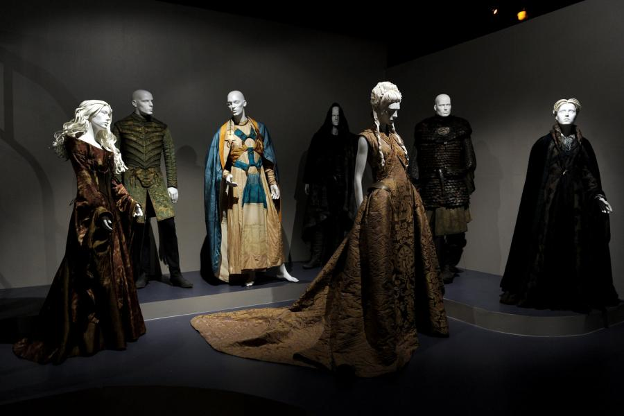 """Costume designs from """"Game of Thrones"""""""