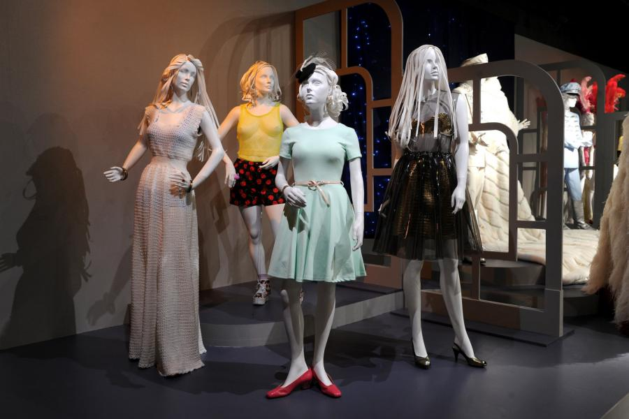 """Costume designs from """"Girls"""""""