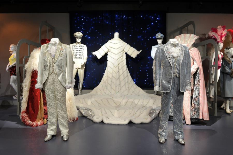 "Primetime Emmy-nominated costume designs from ""Behind the Candelabra"""