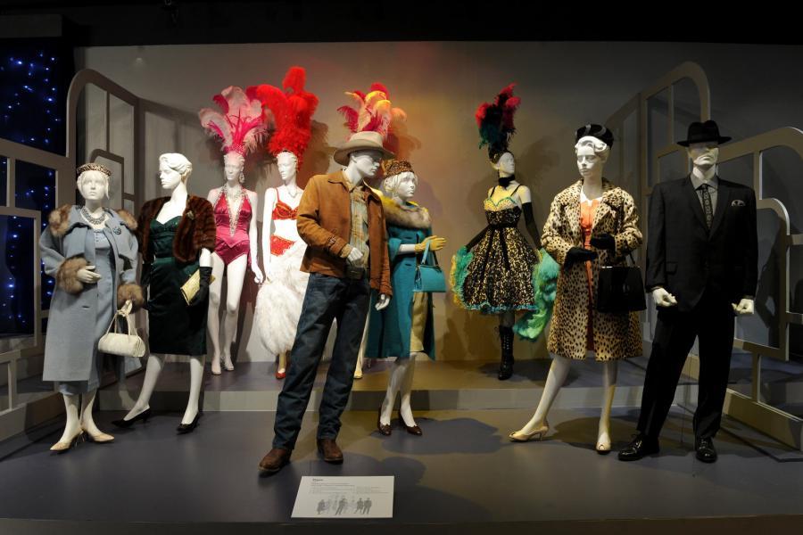 "Costume designs from ""Vegas"""
