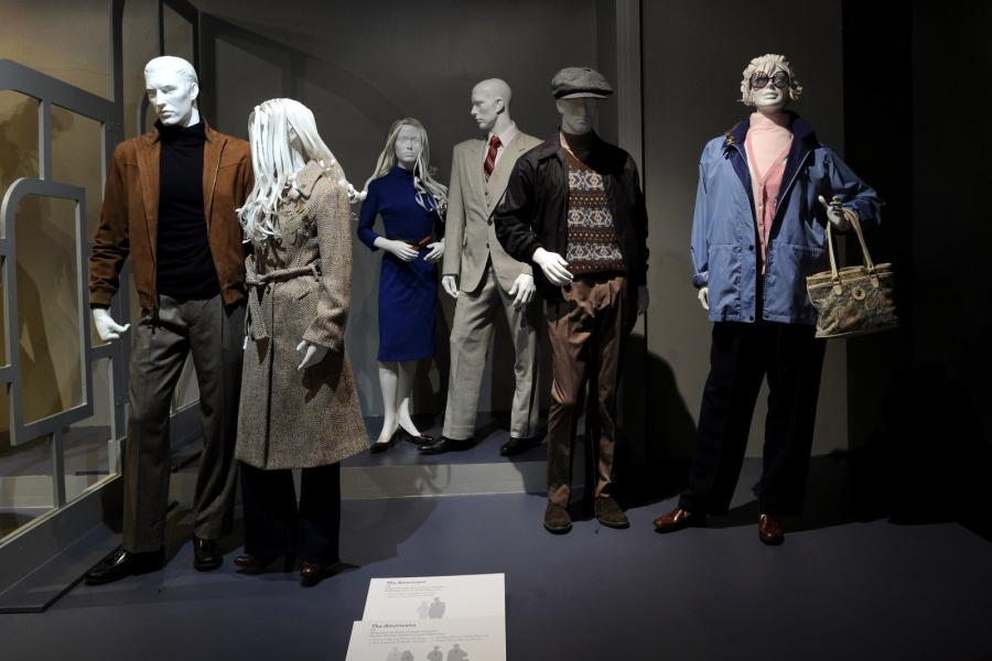 "Costume designs from ""The Americans"""