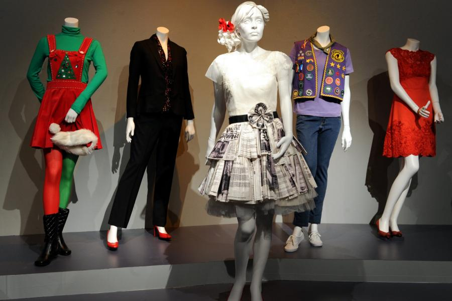 "Costume designs from ""Parks and Recreation"""