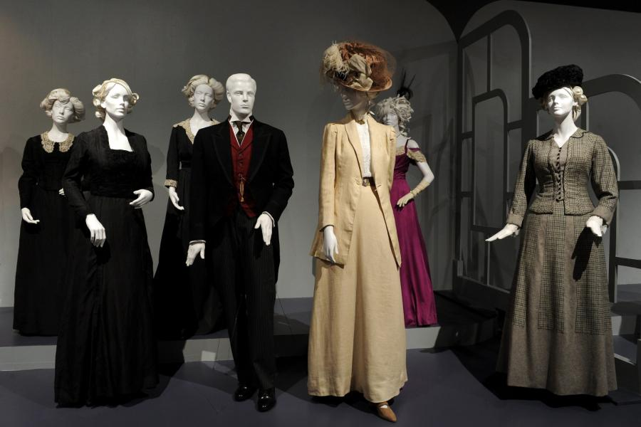 "Costume designs from ""Mr. Selfridge"""